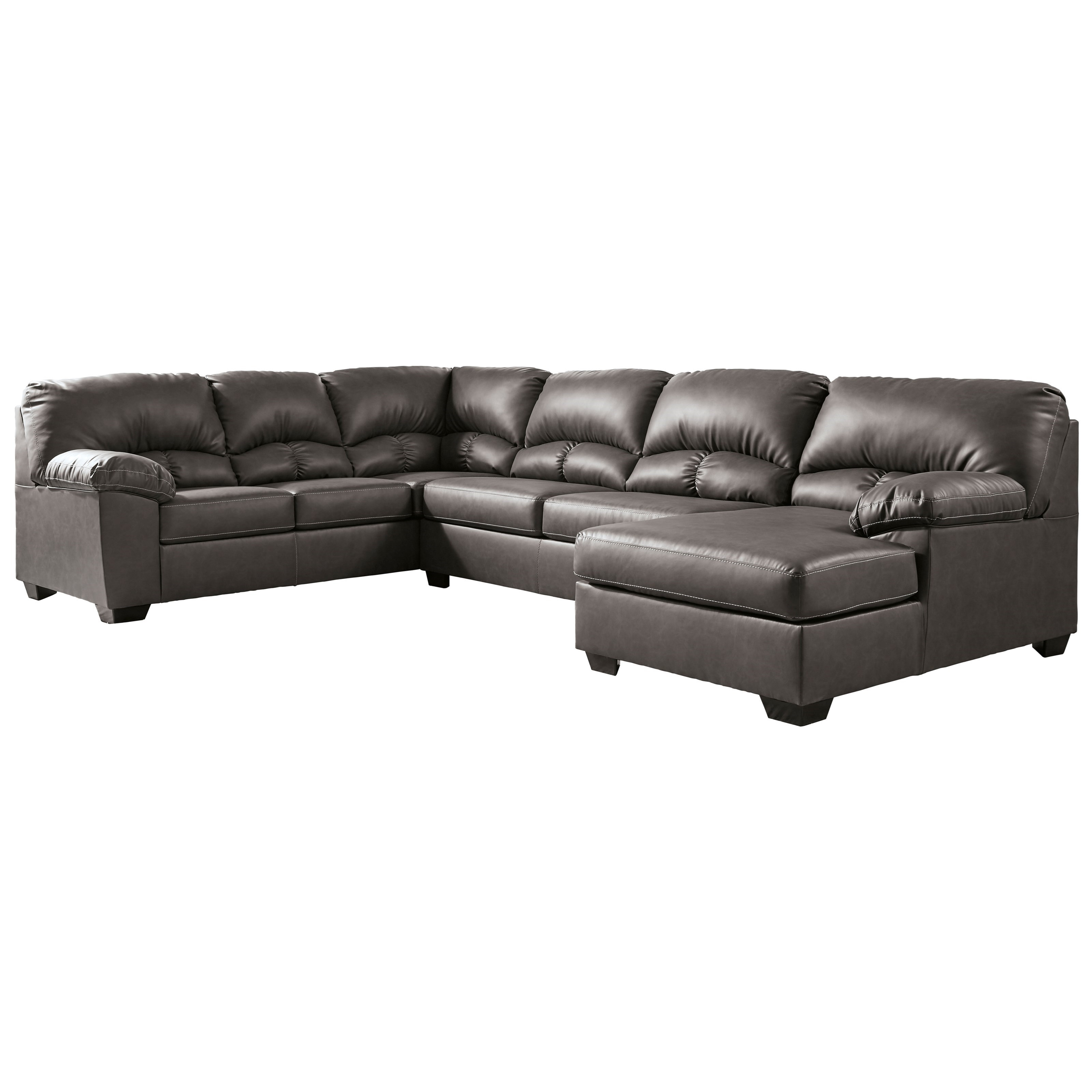 Aberton 3-Piece Sectional with Chaise by Benchcraft at Fashion Furniture
