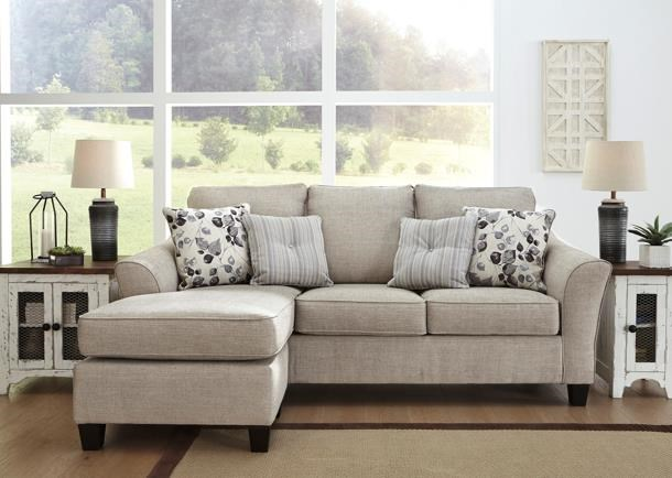 Abney Sofa Chaise by Benchcraft at Darvin Furniture