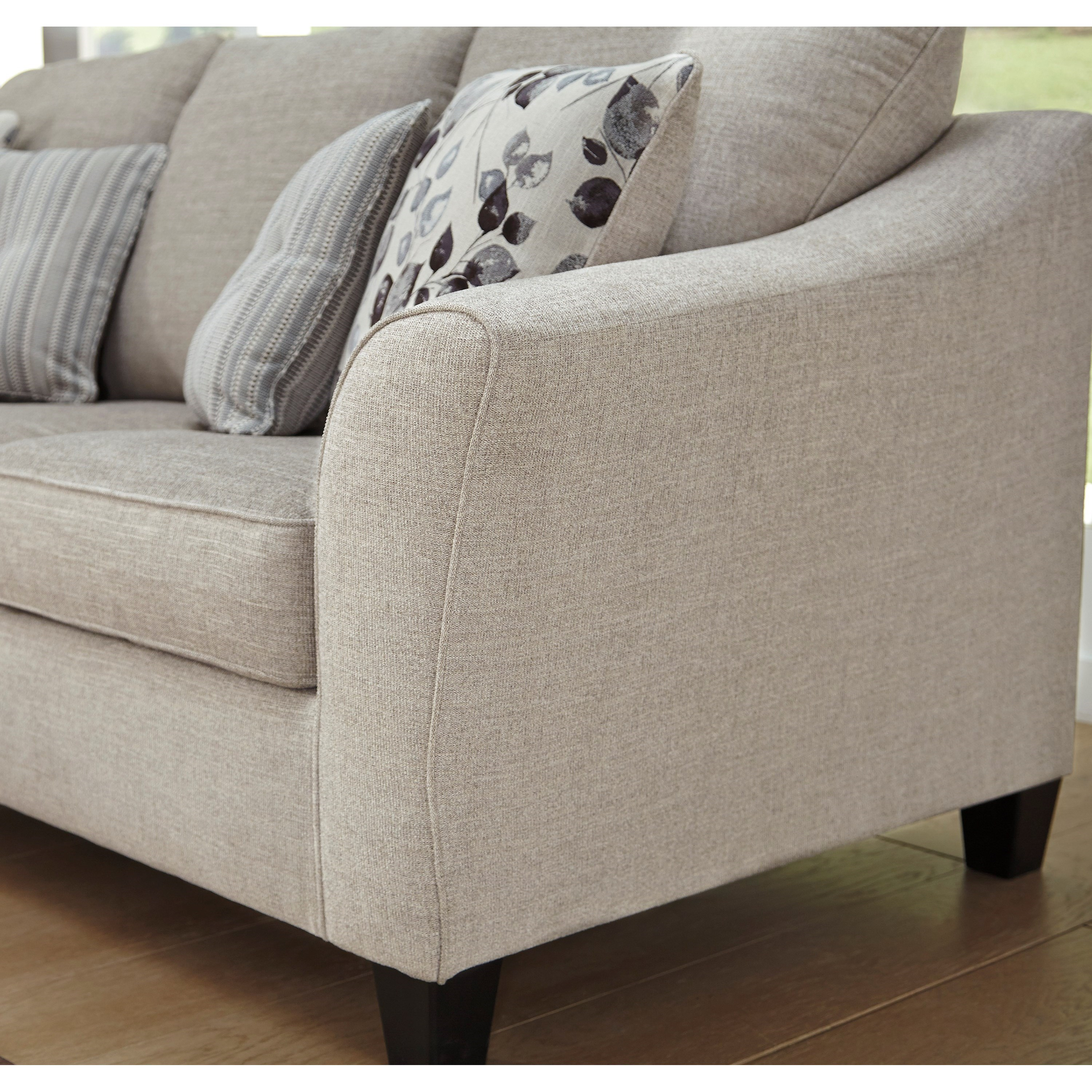 Benchcraft Aria Sofa Chaise With Queen Sleeper Walker S