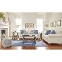 Benchcraft Adderbury Loveseat with Rolled Arms