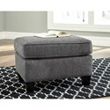 Benchcraft Agleno Contemporary Ottoman with Tapered Feet