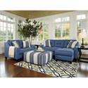 Benchcraft Aldie Nuvella Stationary Living Room Group - Item Number: 68703 Living Room Group 2