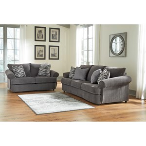 Benchcraft Allouette Stationary Living Room Group