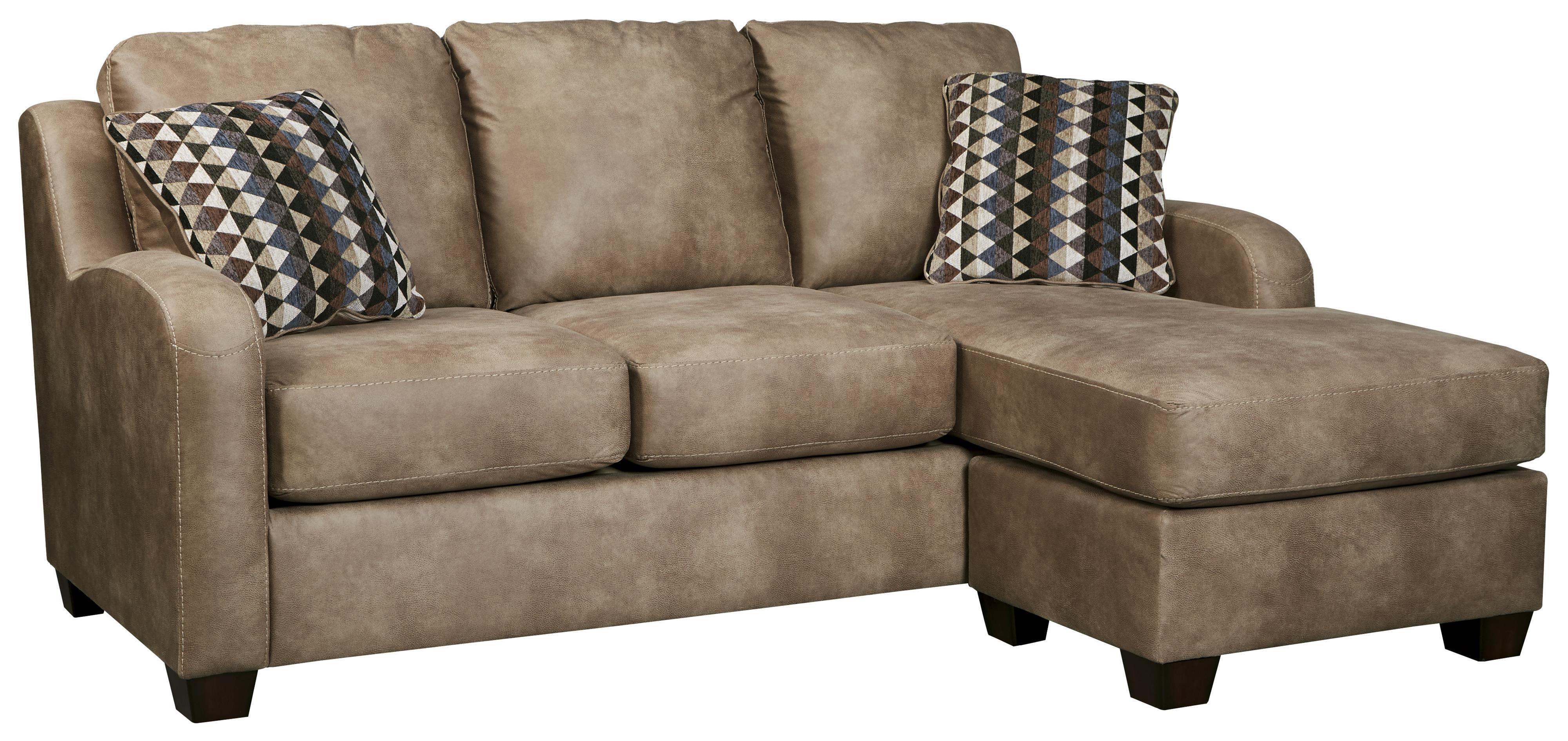Del sol ab alturo 6000318 contemporary faux leather sofa - Apartment sofa with chaise ...
