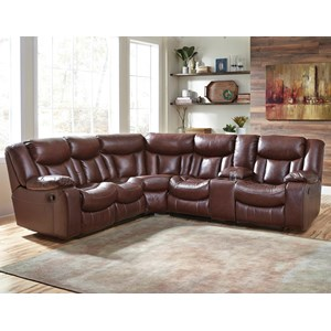 Benchcraft Amaroo 2-Piece Reclining Sectional