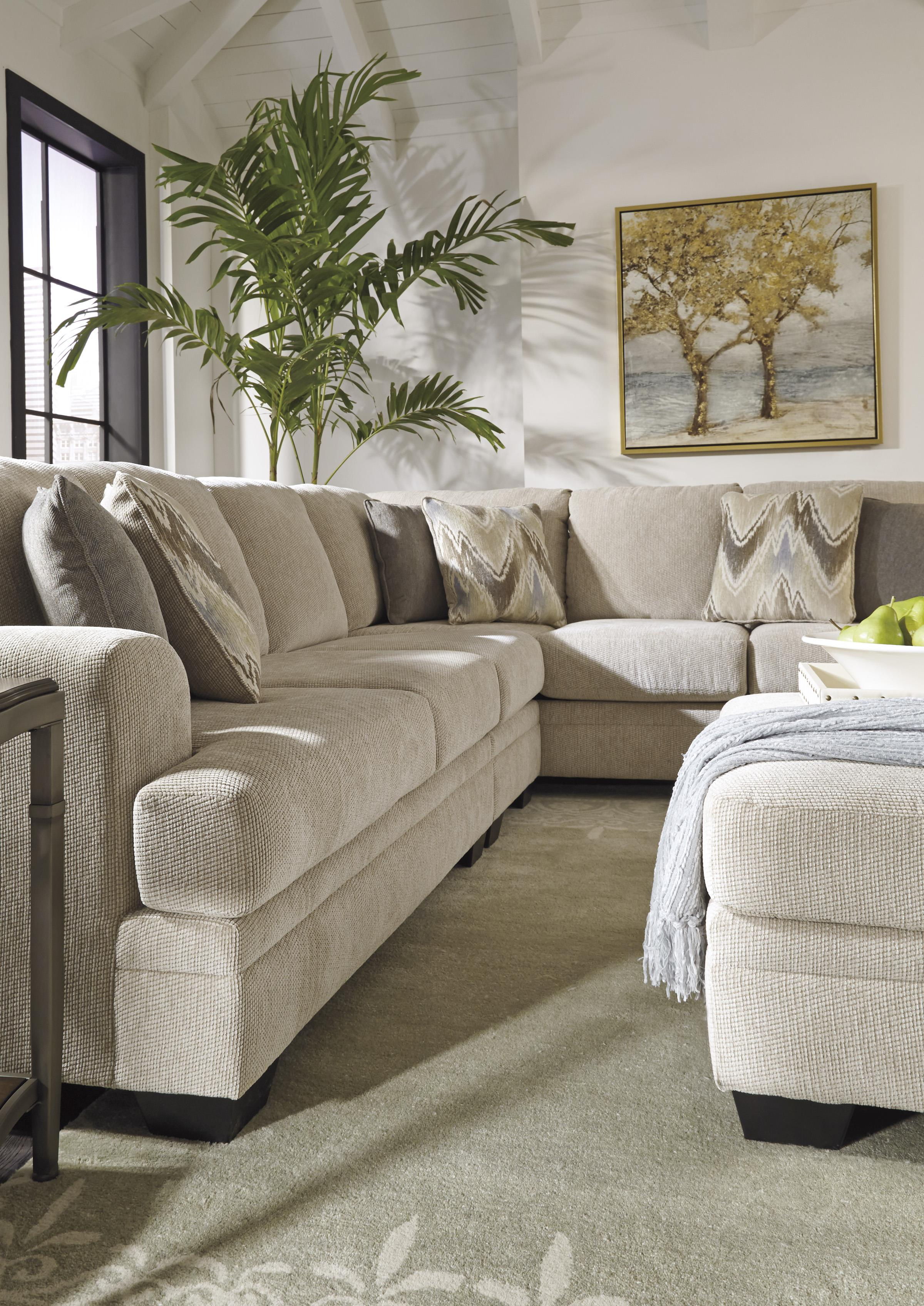Benchcraft Ameer Contemporary 3 Piece Sectional Virginia