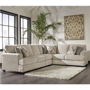 Ashley/Benchcraft Ameer 3-Piece Sectional