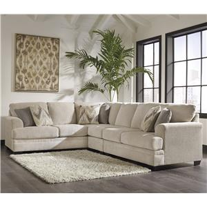 Benchcraft Ameer 3-Piece Sectional