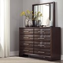Benchcraft Andriel Dresser & Bedroom Mirror - Item Number: B609-31+36