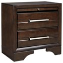 Benchcraft by Ashley Andriel 2-Drawer Nightstand - Item Number: B609-92