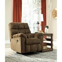 Benchcraft Antwan Swivel Rocker Recliner