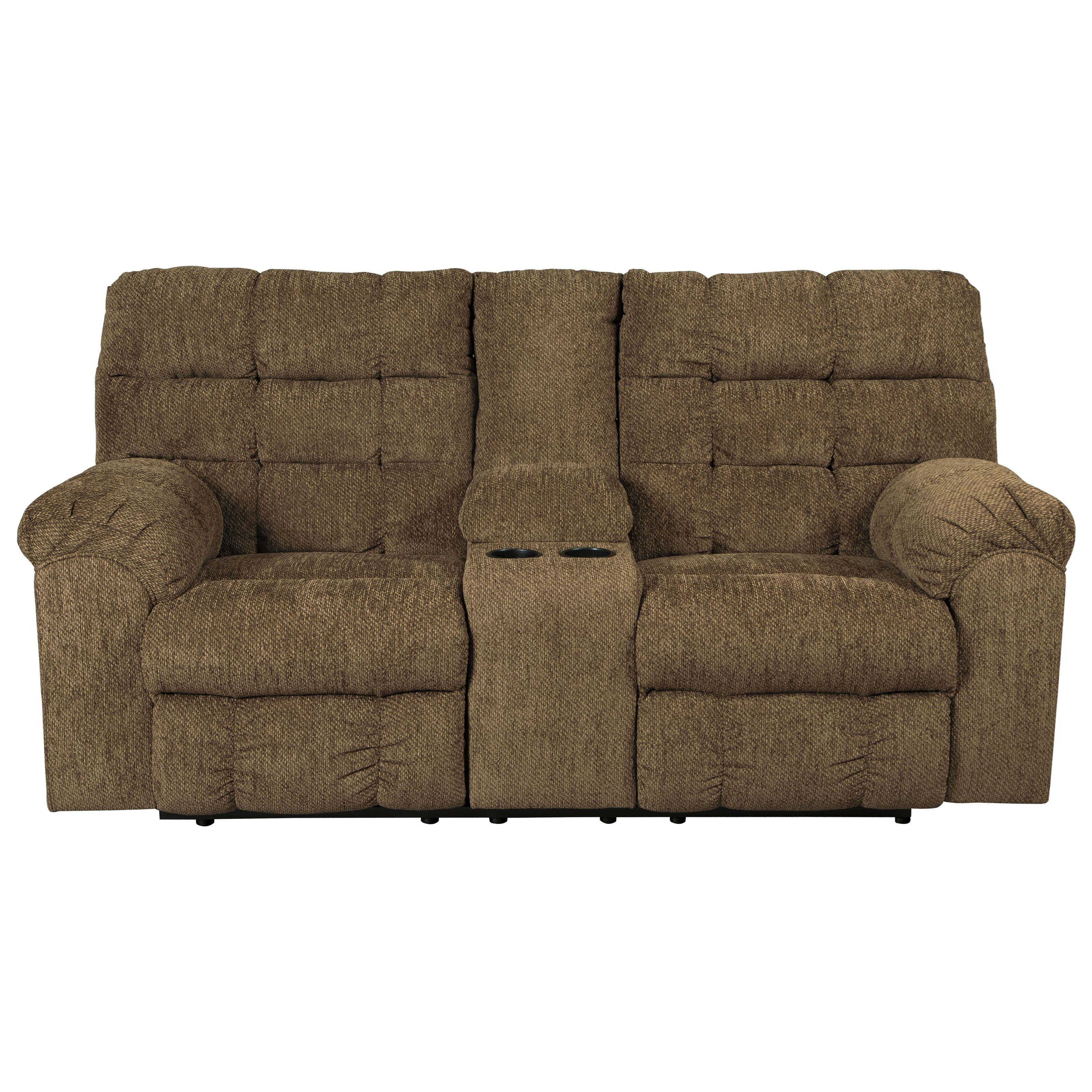 Benchcraft Antwan Reclining Loveseat w/ Console - Item Number: 4820094