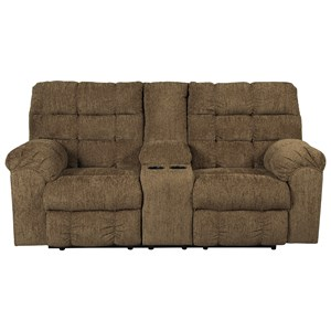 Ashley/Benchcraft Antwan Reclining Loveseat w/ Console