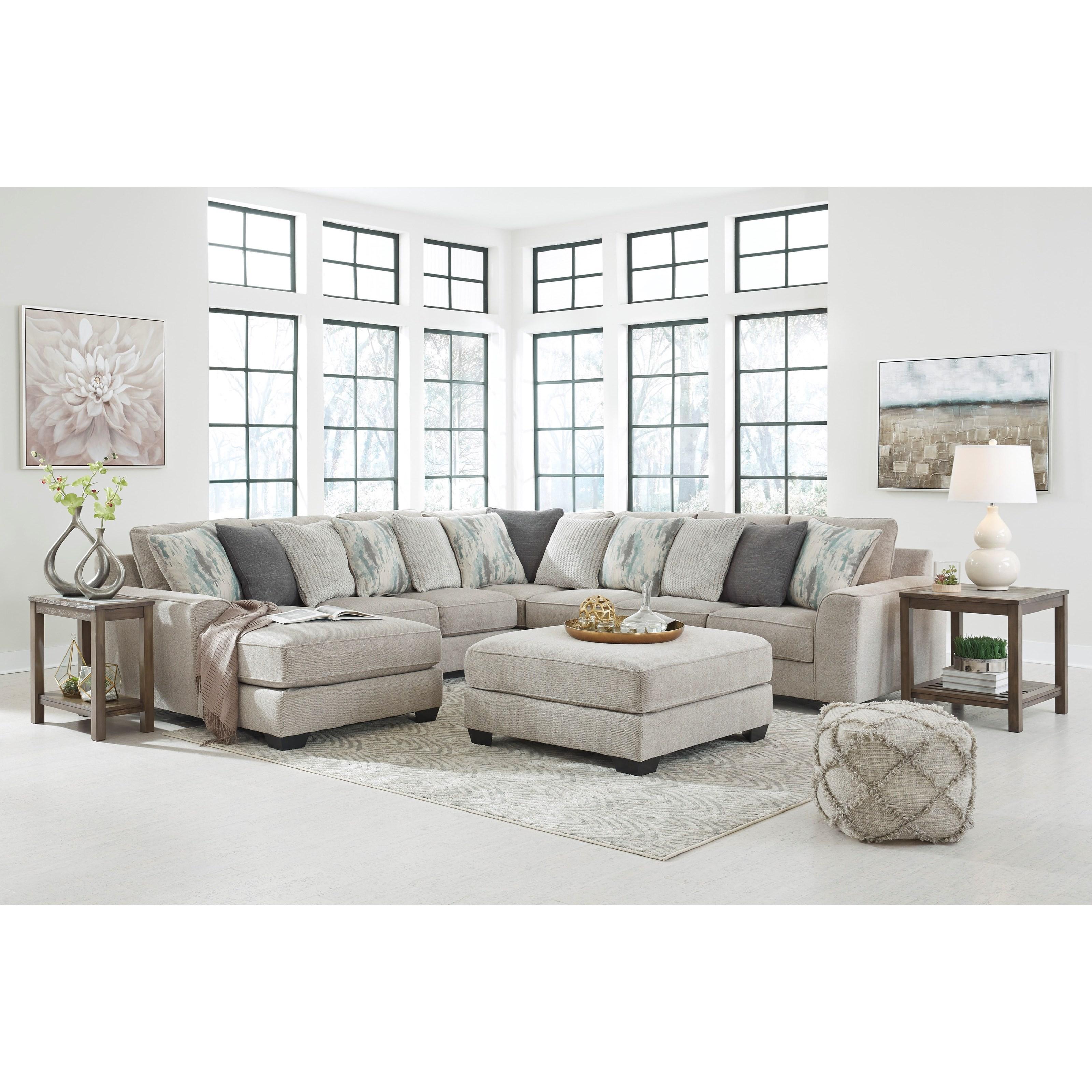 Ardsley Stationary Living Room Group by Benchcraft at Furniture Fair - North Carolina