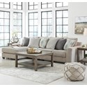 Benchcraft by Ashley Ardsley 3-Piece Sectional with Left Chaise - Item Number: 3950416+46+56