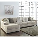 Benchcraft Ardsley 3-Piece Sectional with Left Chaise - Item Number: 3950416+46+67