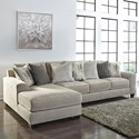 Signature Design By Ashley Ardsley 2-Piece Sectional with Left Chaise - Item Number: 3950416+67