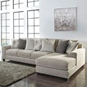 Benchcraft by Ashley Ardsley 2-Piece Sectional with Right Chaise - Item Number: 3950466+17