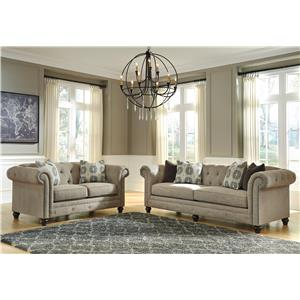 Ashley/Benchcraft Azlyn Stationary Living Room Group