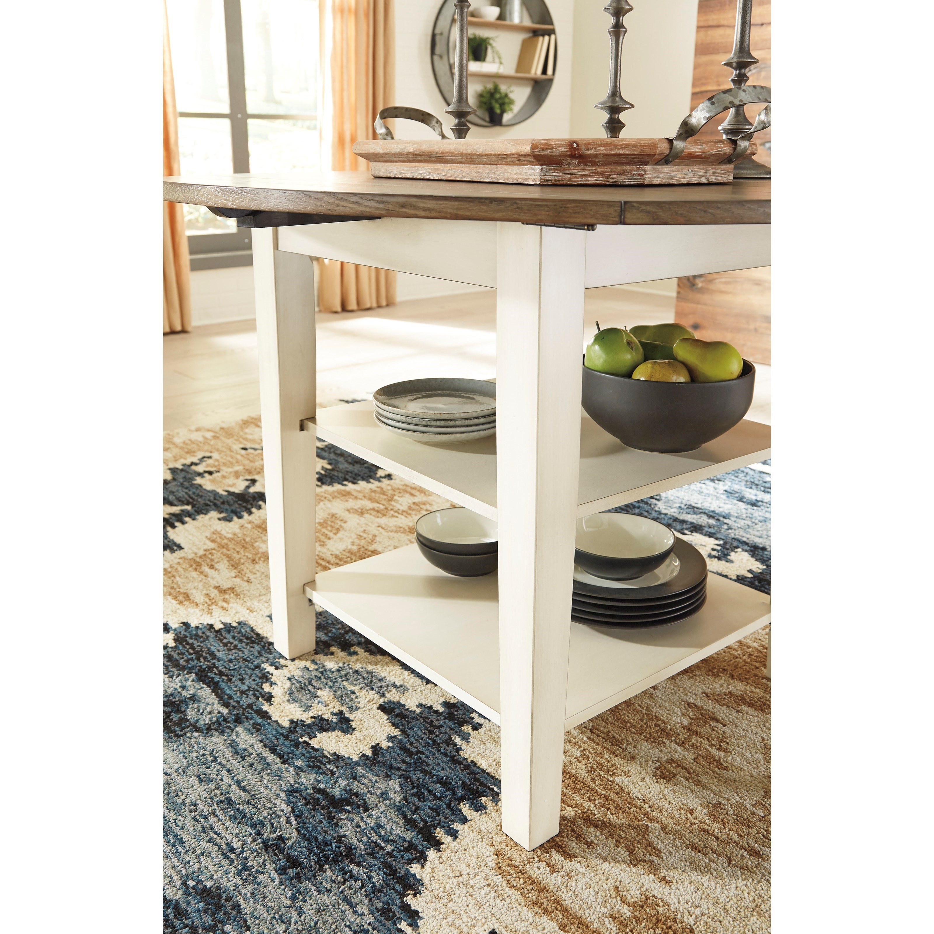 Benchcraft Bardilyn D447-15 Two-Tone Round Dining Room