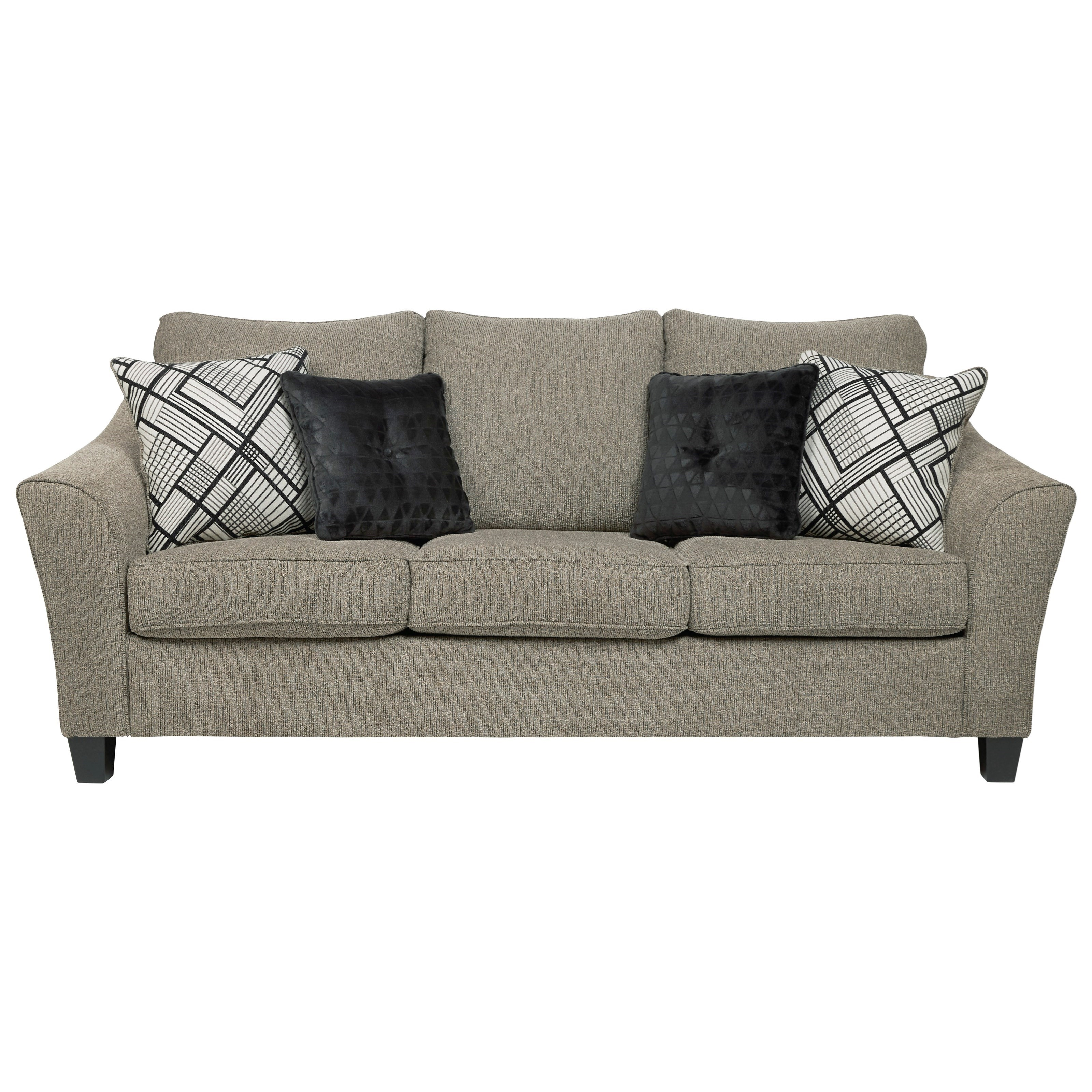 Barnesley Queen Sofa Sleeper by Benchcraft at Virginia Furniture Market