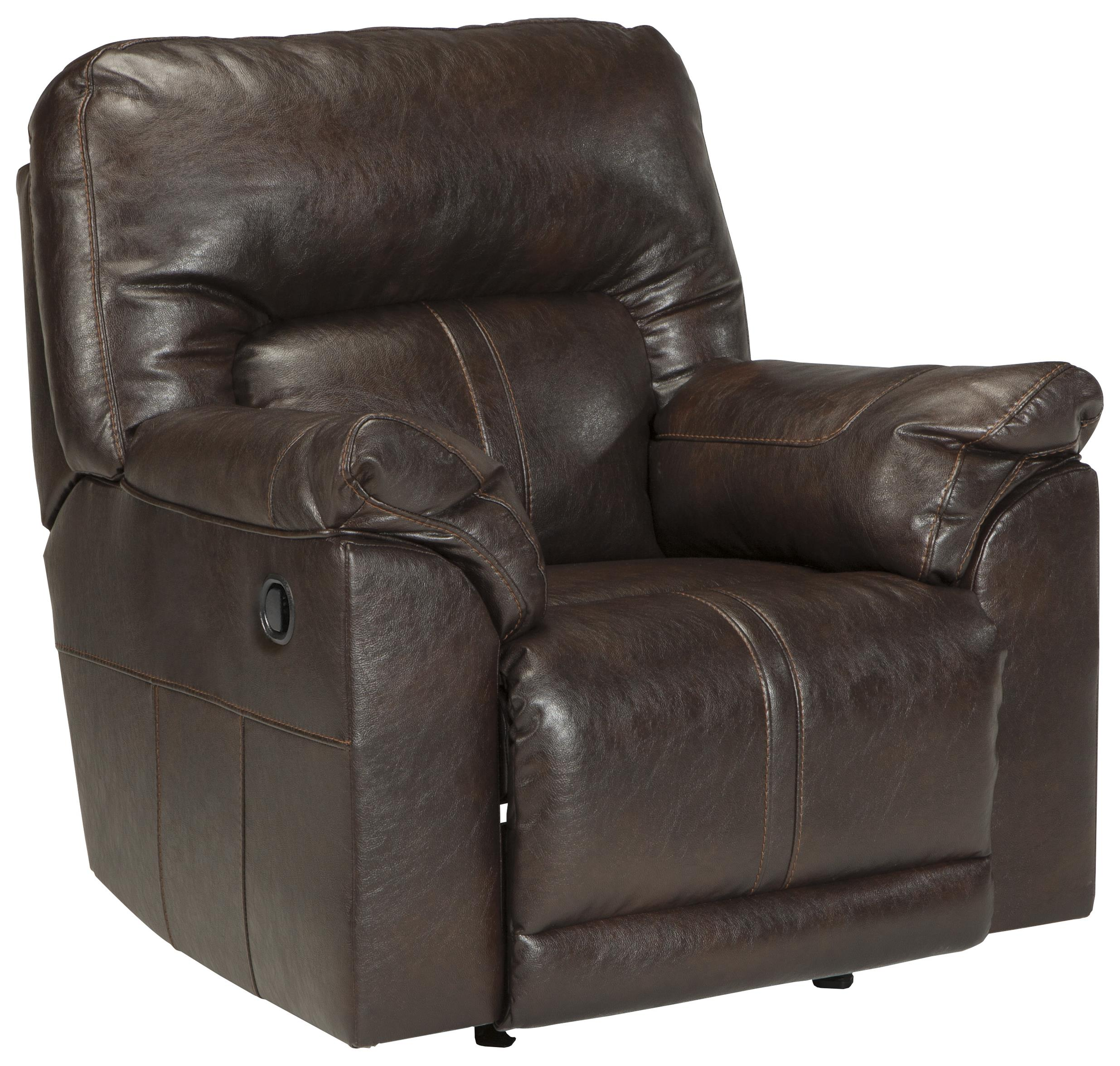 Benchcraft Barrettsville DuraBlend® Rocker Recliner - Item Number: 4730125