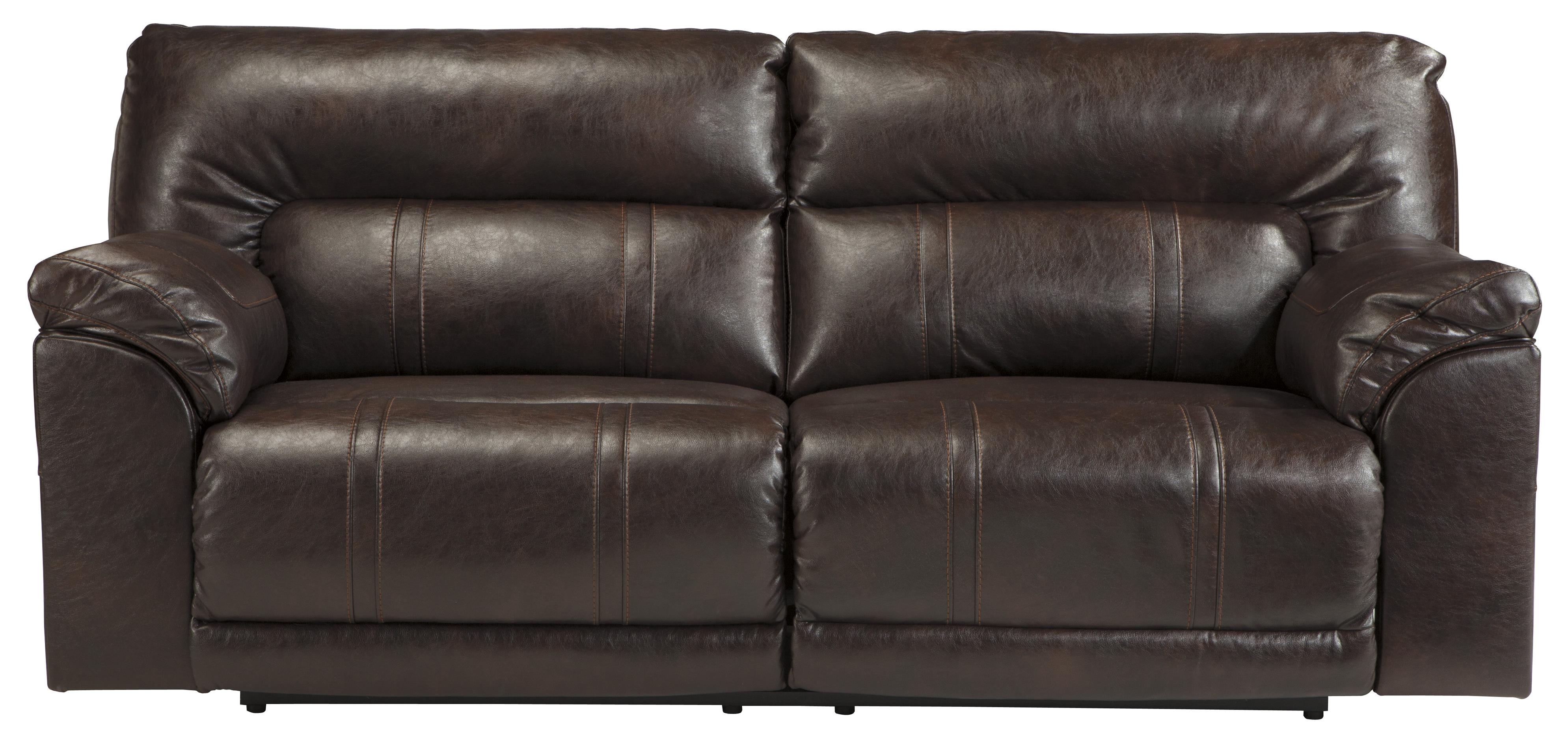 Benchcraft Barrettsville DuraBlend® 2 Seat Reclining Power Sofa - Item Number: 4730147