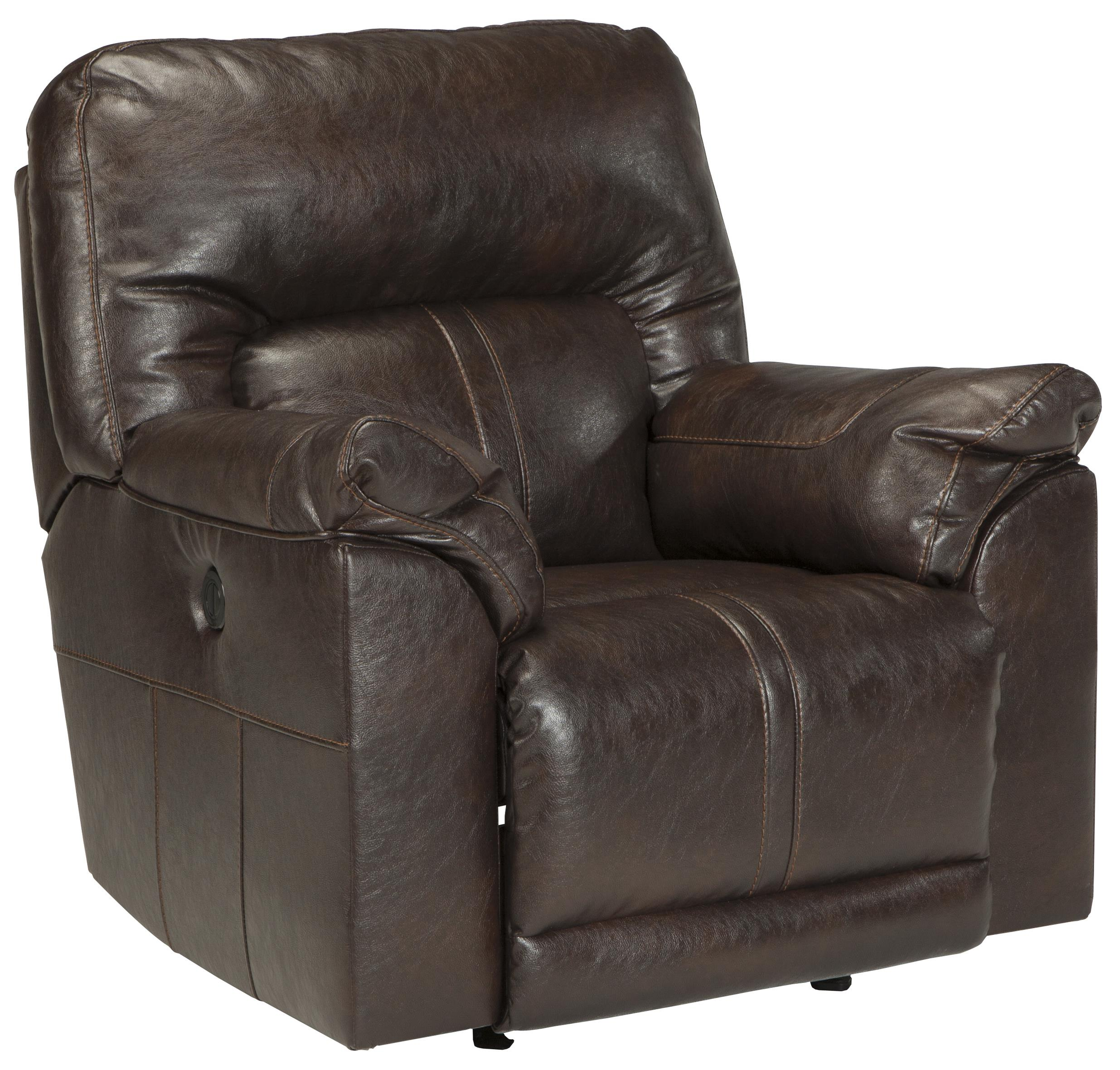 Benchcraft Barrettsville DuraBlend® Power Rocker Recliner - Item Number: 4730198