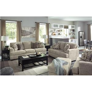 Ashley Barrish Stationary Living Room Group