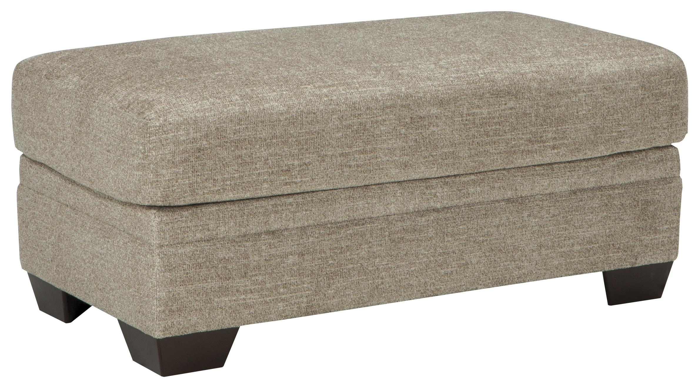 Benchcraft Barrish Contemporary Chair And A Half Amp Ottoman
