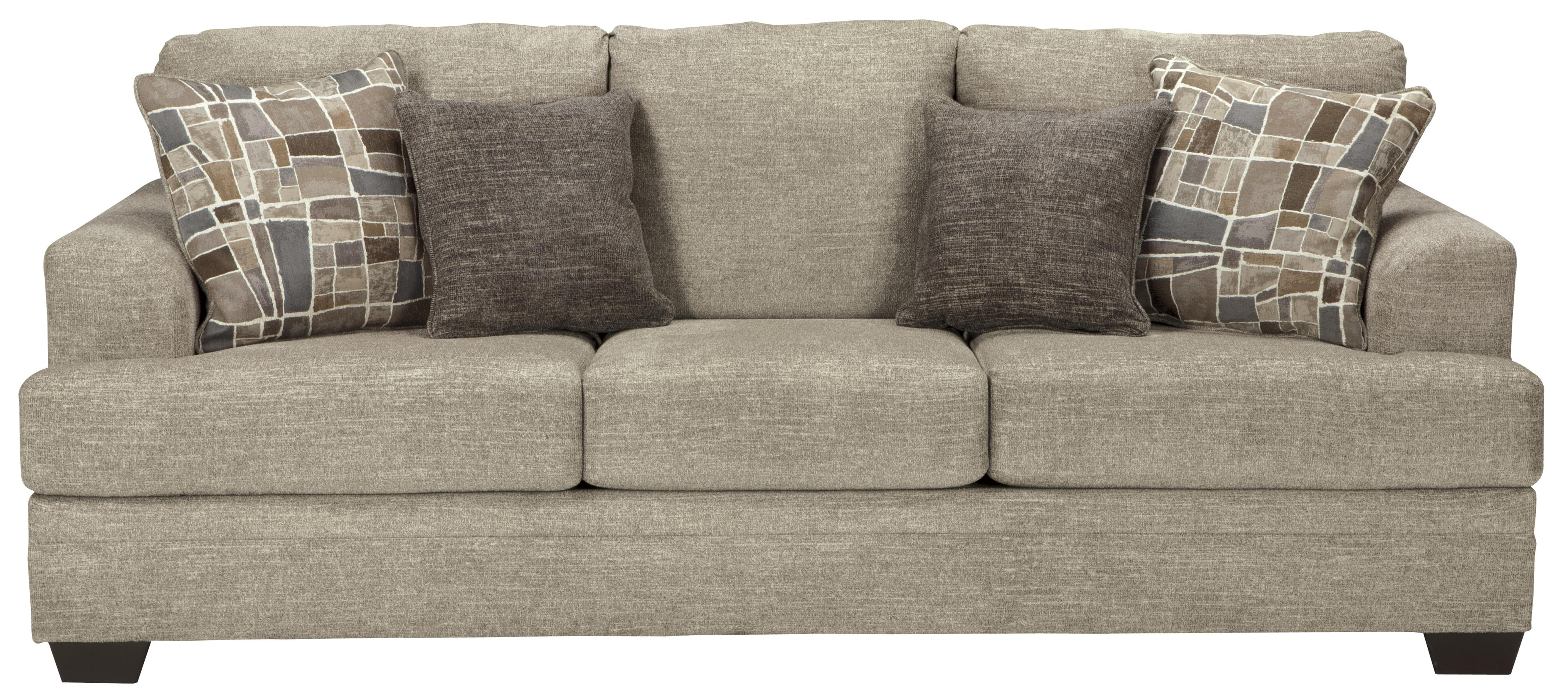 Benchcraft By Ashley Barrish 4850138 Contemporary Sofa With Flared