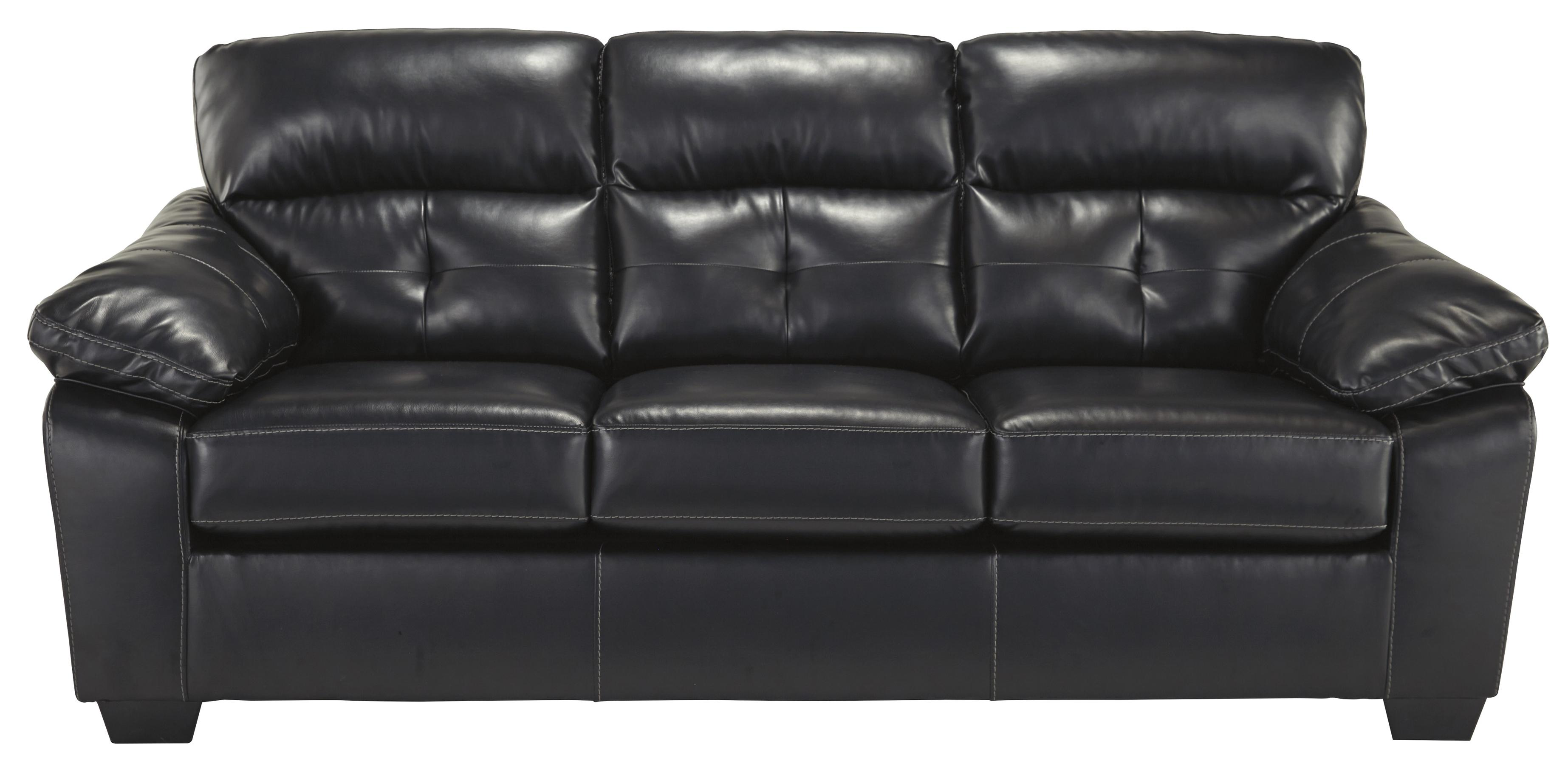 Benchcraft Bastrop DuraBlend - Midnight Full Sofa Sleeper - Item Number: 4460136