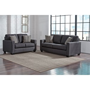Benchcraft Bavello Stationary Living Room Group
