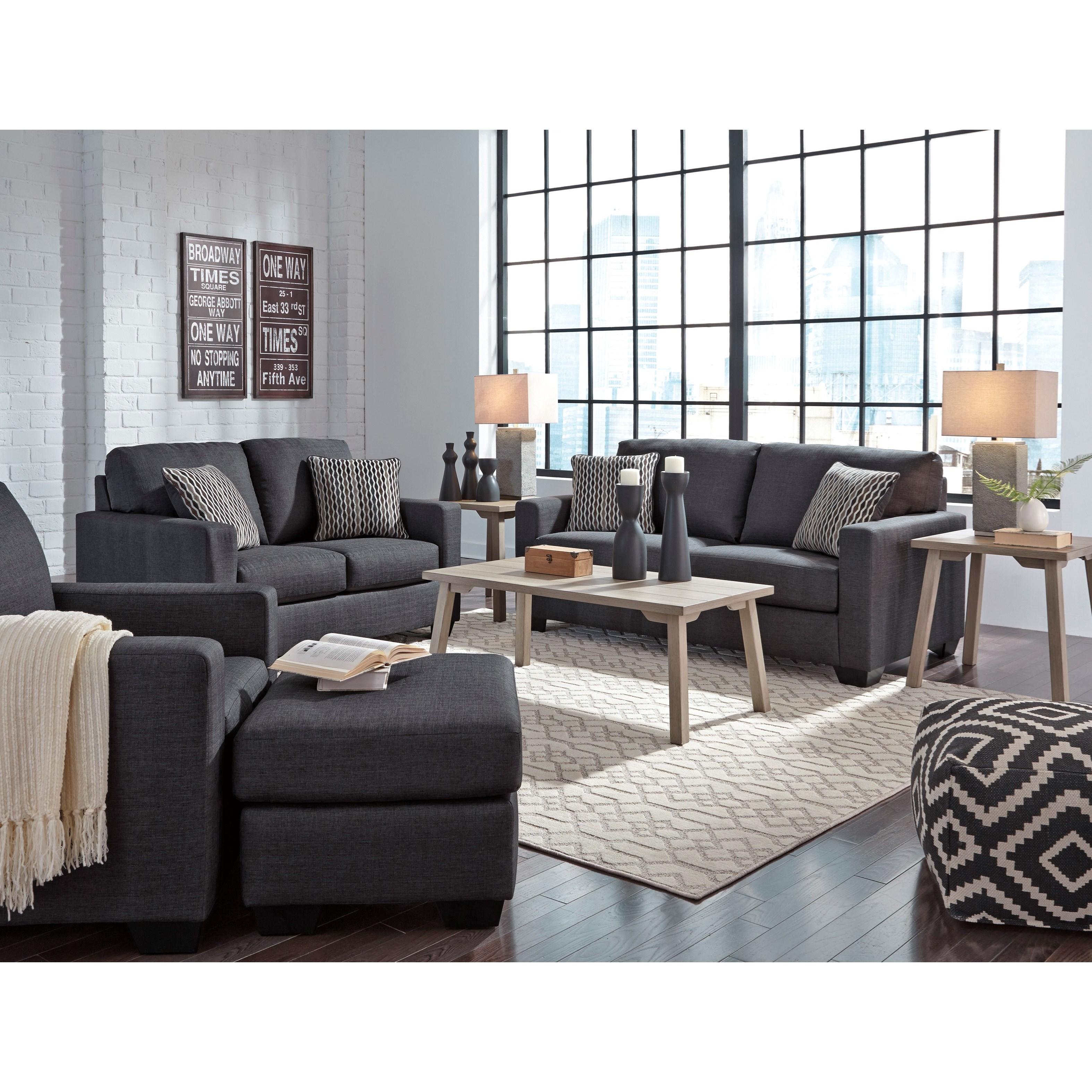 Benchcraft Bavello Contemporary Full Sofa Sleeper With