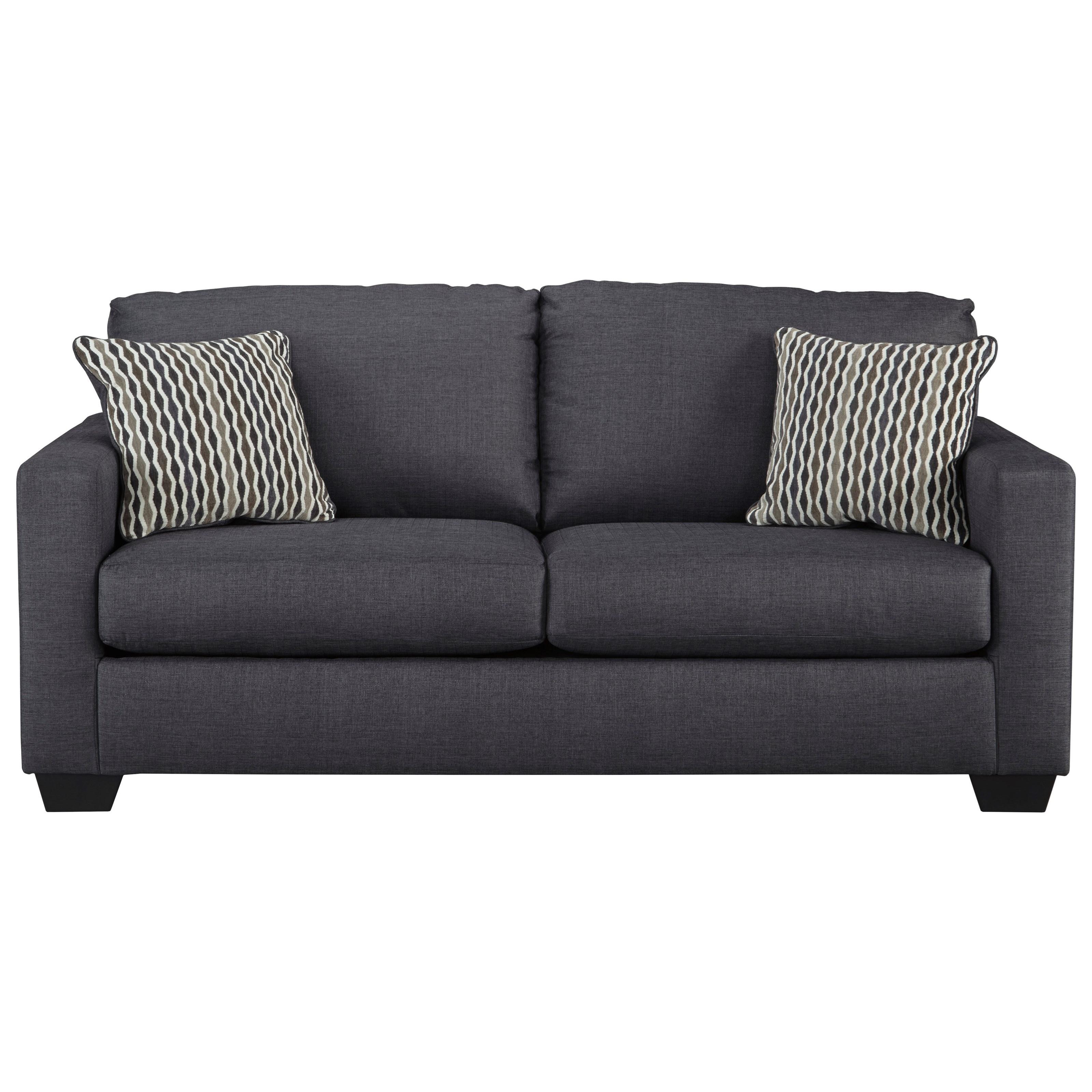 Bavello Contemporary Sofa with Track Arms by Benchcraft by Ashley at Royal  Furniture