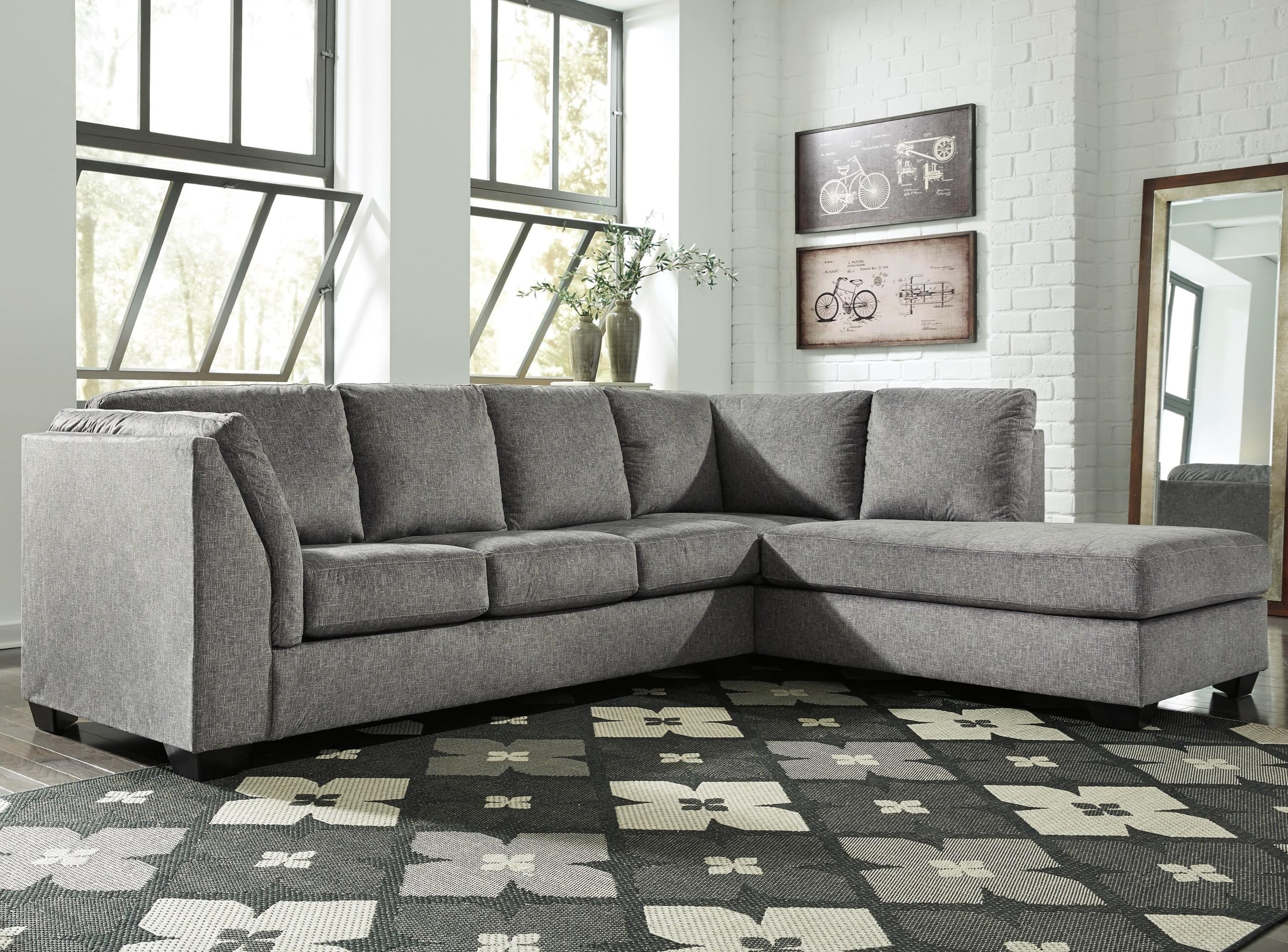 Benchcraft Belcastel 2-Piece Sectional With Right Chaise