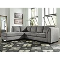 Benchcraft Belcastel 2-Piece Sectional with Chaise - Item Number: 7230516+67