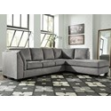 Benchcraft Belcastel 2-Piece Sectional with Chaise - Item Number: 7230566+17