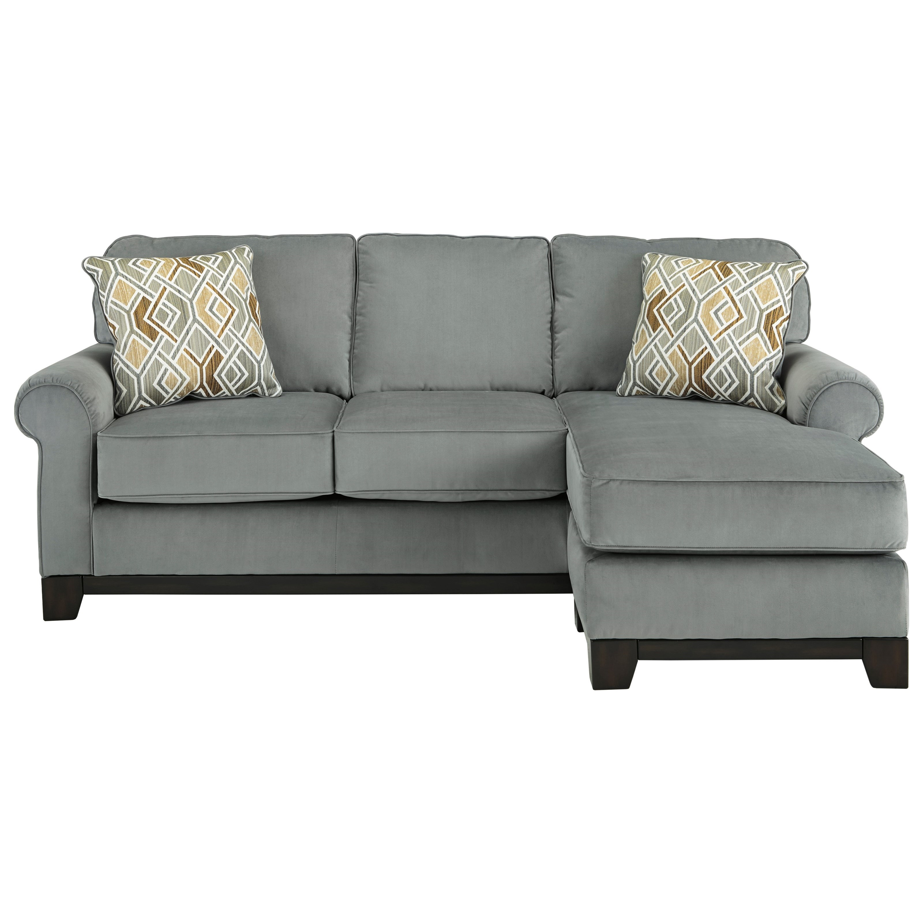 Benchcraft by ashley benld contemporary sofa chaise for Chaise living room furniture