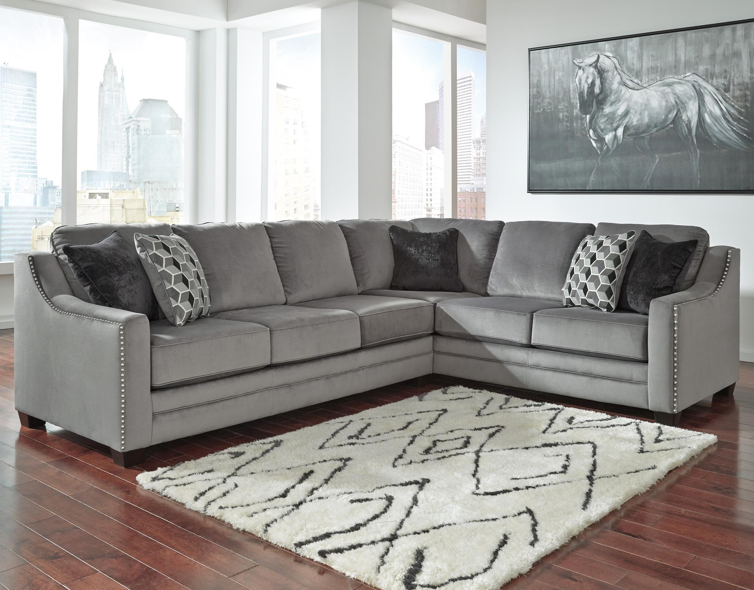 Benchcraft Bicknell 2 Piece Sectional With Left Sofa Item Number 8620466 49