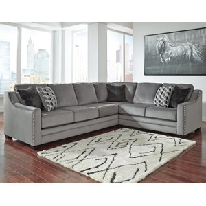 Benchcraft Bicknell 2-Piece Sectional with Left Sofa