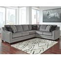 Benchcraft Bicknell 2-Piece Sectional with Left Sofa - Item Number: 8620466+49