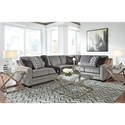 Benchcraft Bicknell Contemporary 2-Piece Sectional with Left Sofa