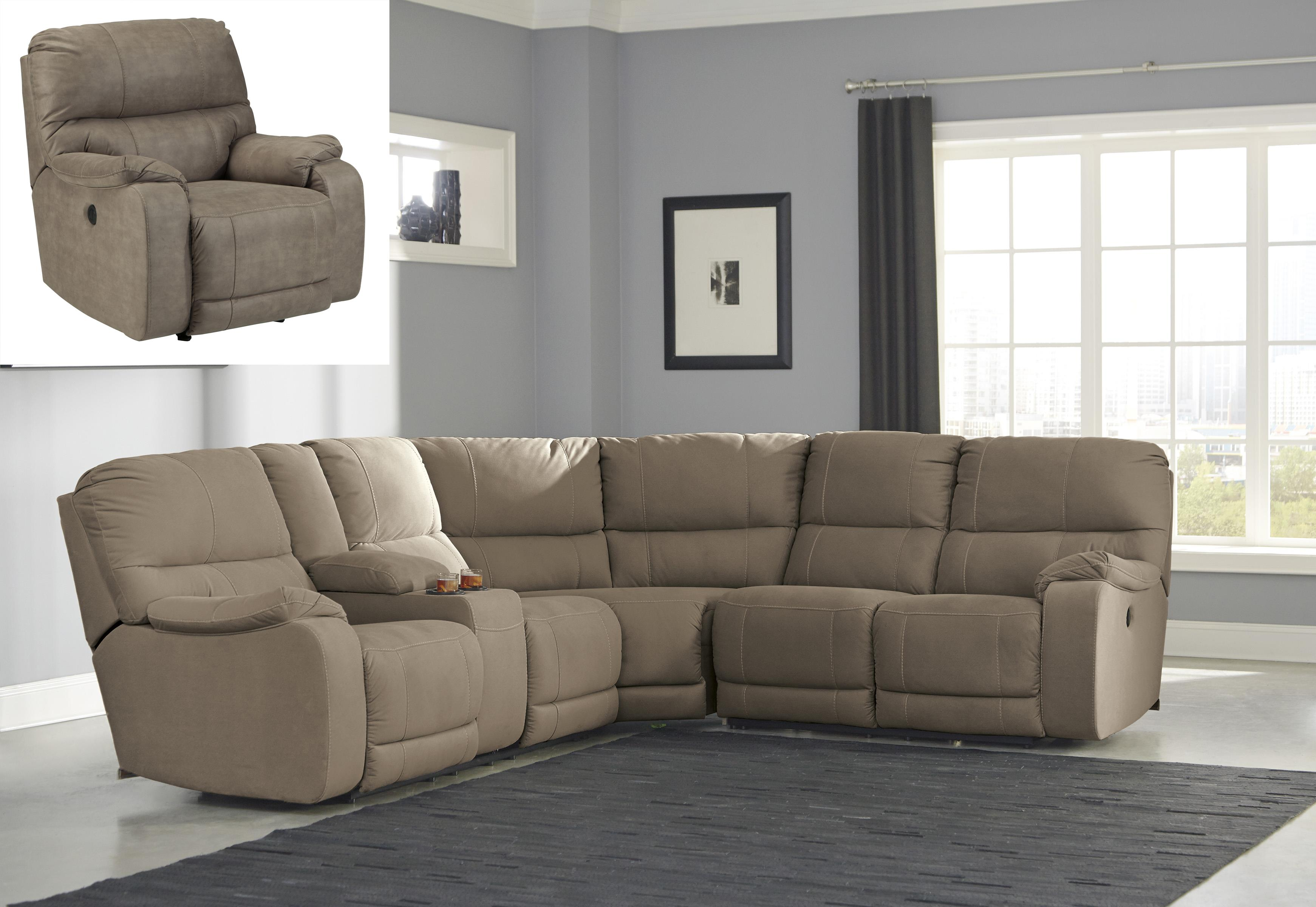 Benchcraft Bohannon Reclining Living Room Group - Item Number: 57403 Living Room Group 1
