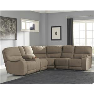Ashley Bohannon Power Reclining Sectional with Console