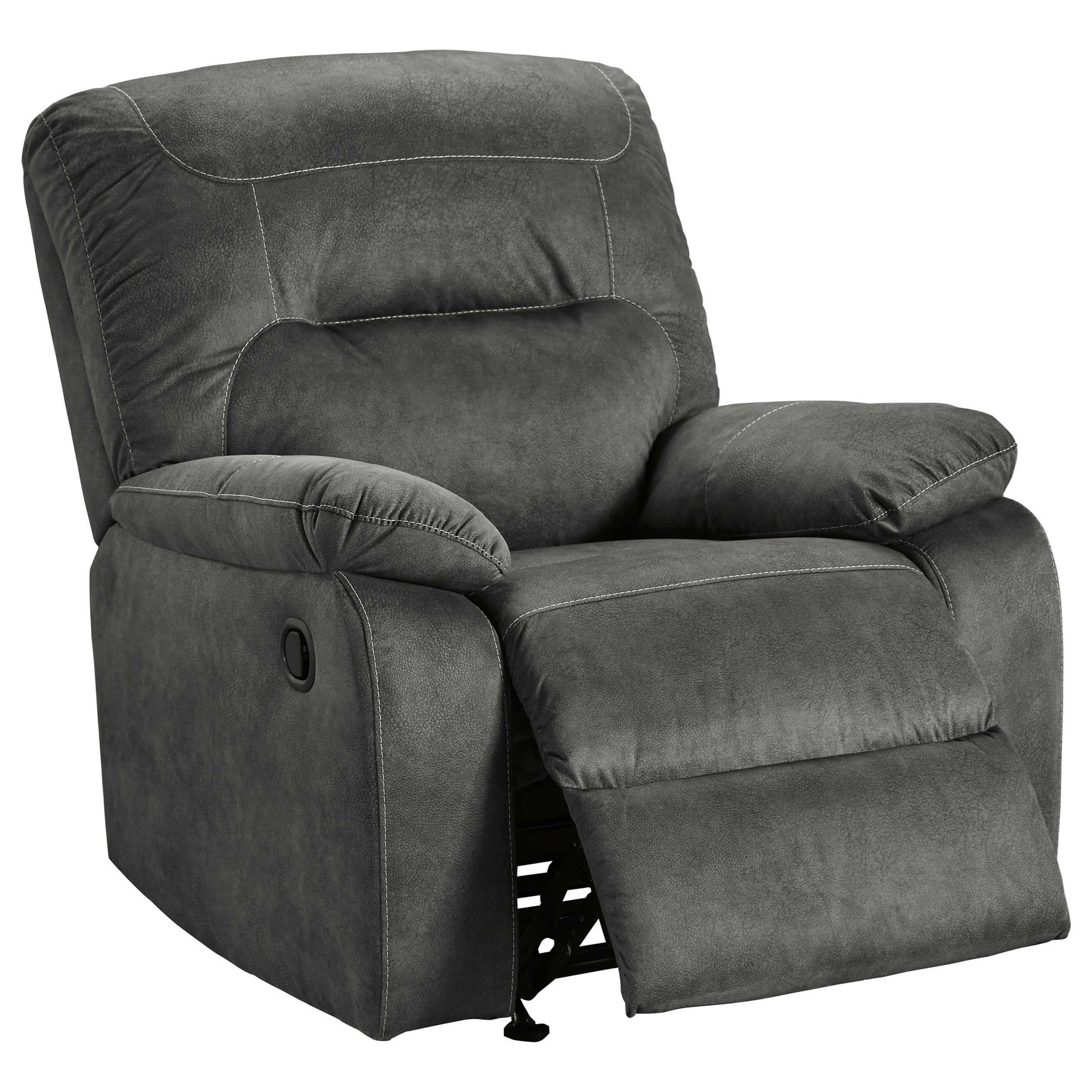 Bolzano Rocker Recliner by Benchcraft at Standard Furniture