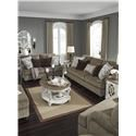 Benchcraft Braemar Sofa, Loveseat and Chair Set - Item Number: 123340919