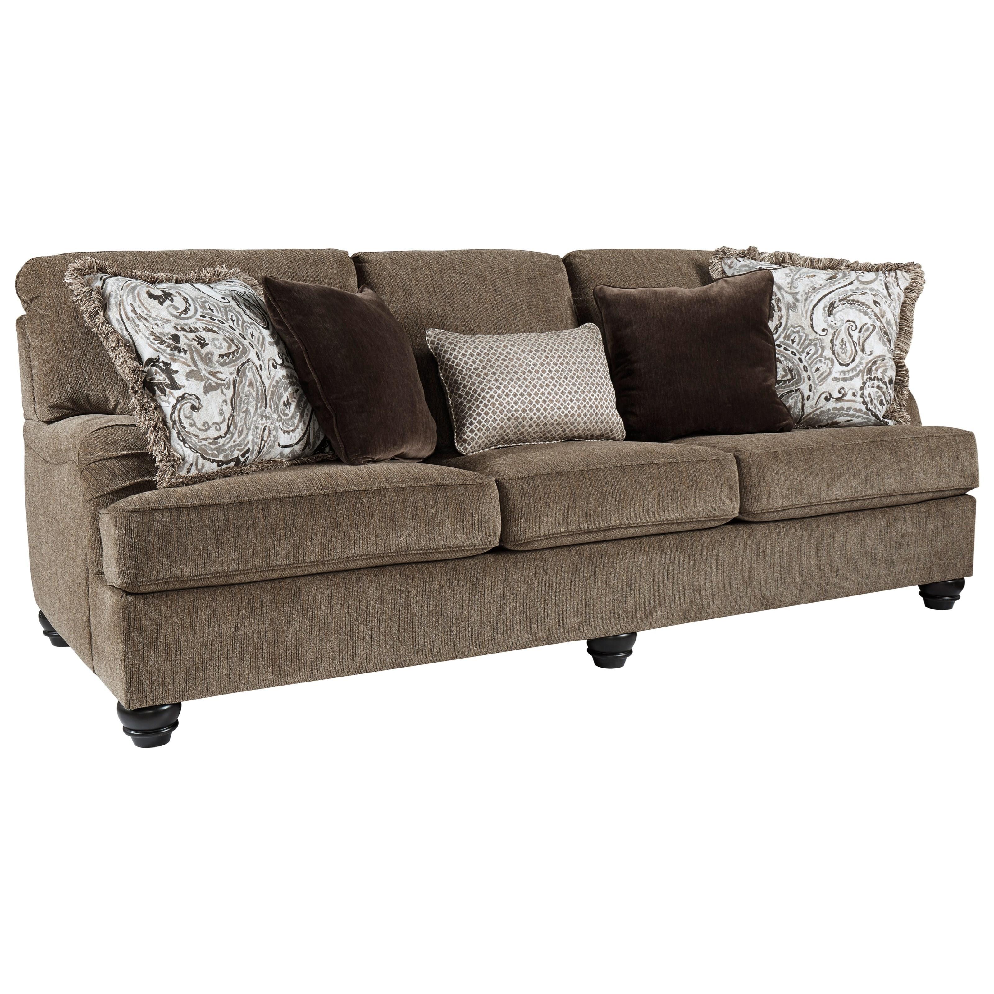 Benchcraft Braemar Transitional Queen Sofa Sleeper With