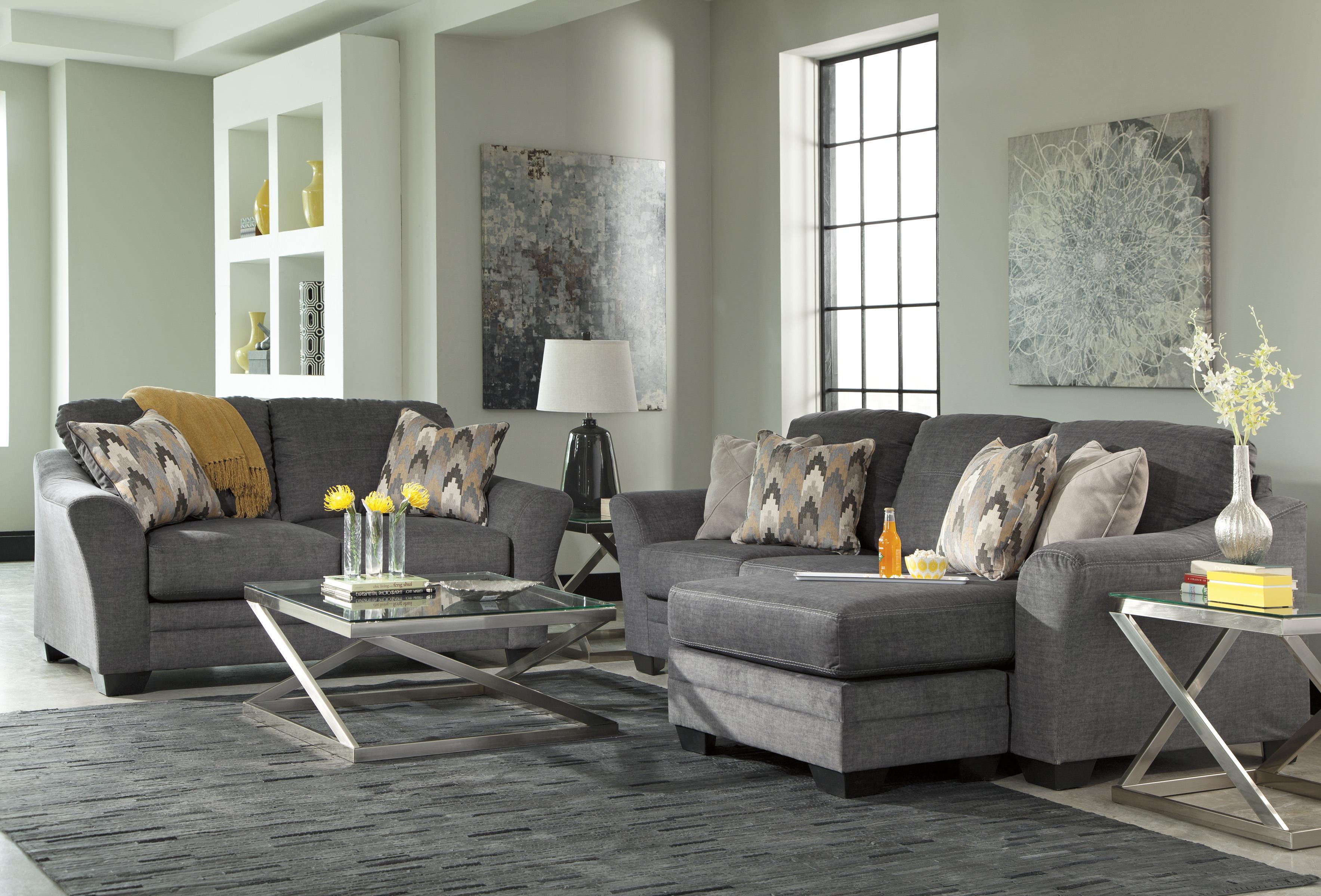 Benchcraft Braxlin 8850218 Contemporary Sofa Chaise In