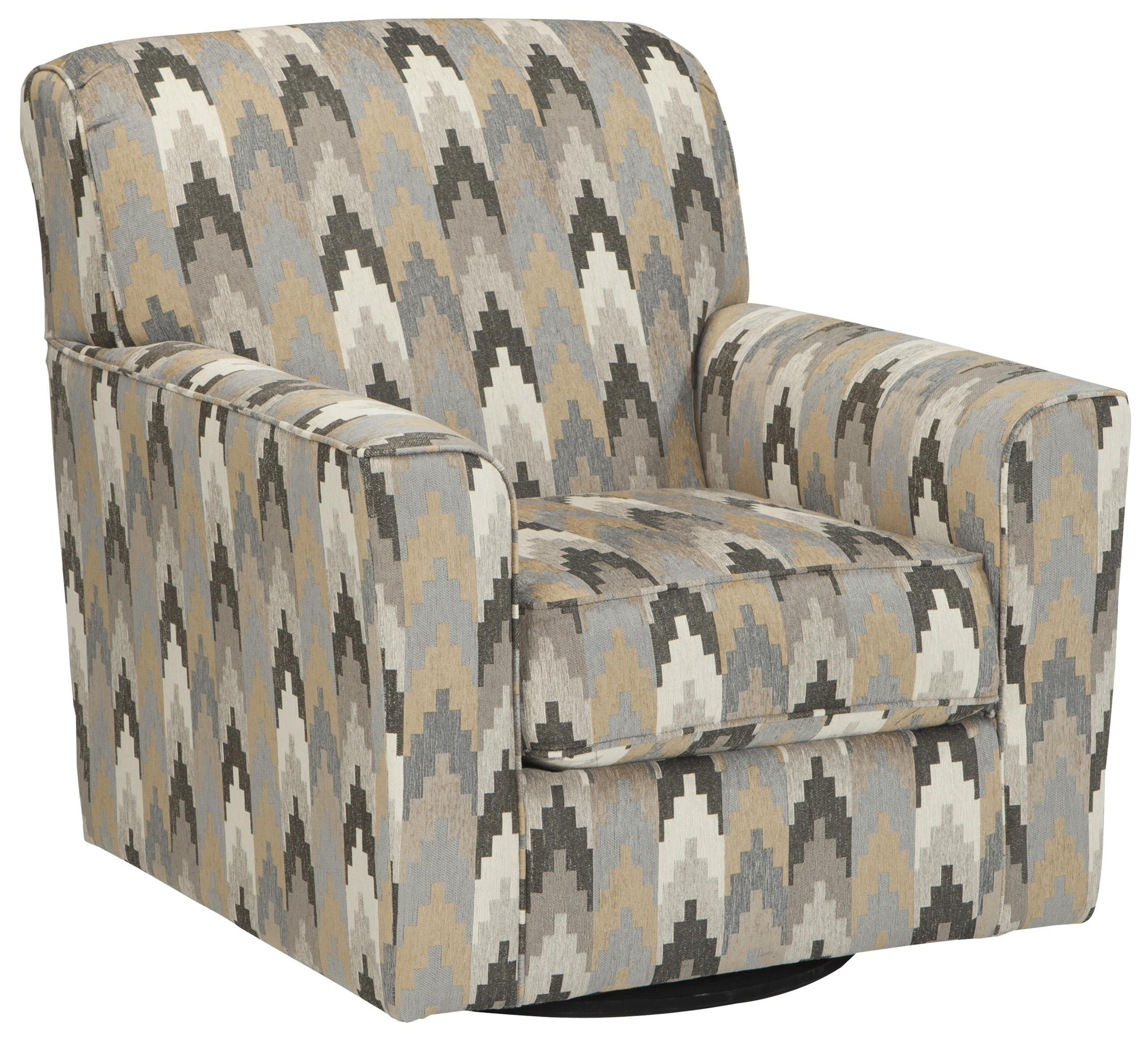 Benchcraft Braxlin Swivel Accent Chair - Item Number: 8850244